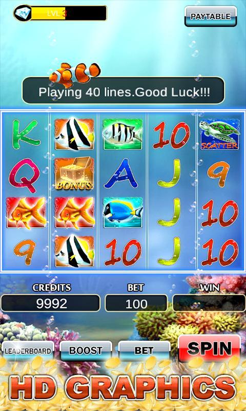 Slot Machine: Fish Slots 2.3 Screenshot 2