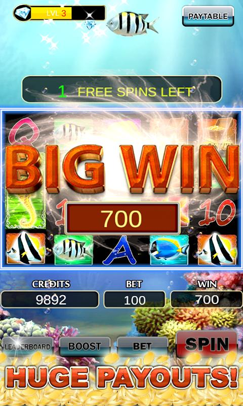 Slot Machine: Fish Slots 2.3 Screenshot 3