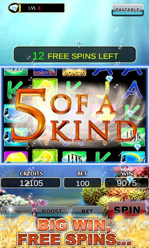 Slot Machine: Fish Slots 2.3 Screenshot 7