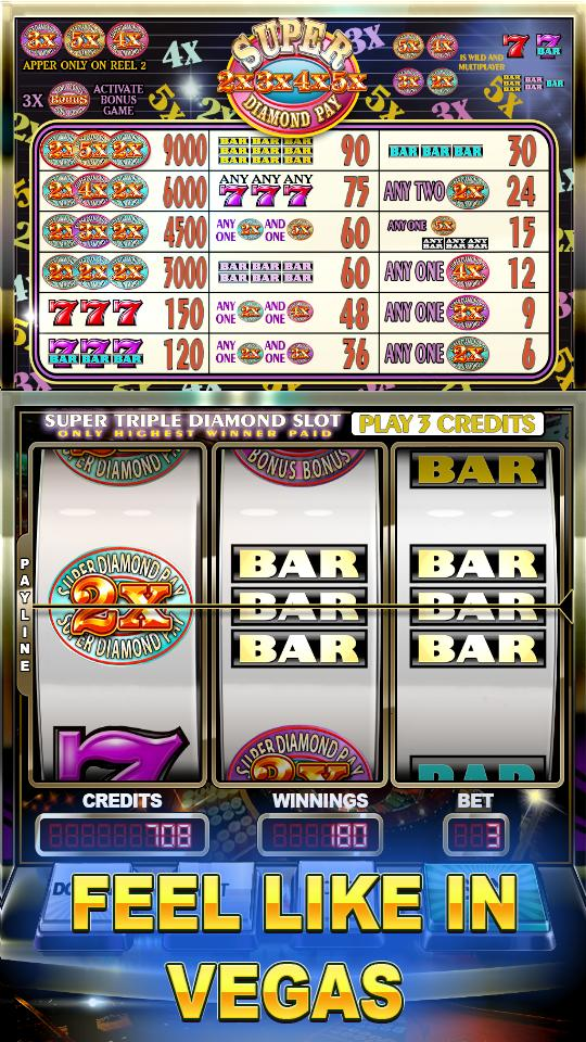 Super Diamond Pay Slots 2.0 Screenshot 2