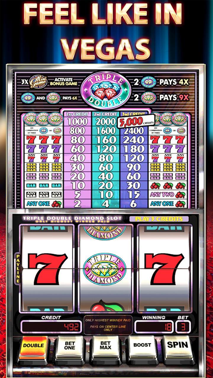 Triple Double Diamond Slots 2.7 Screenshot 6