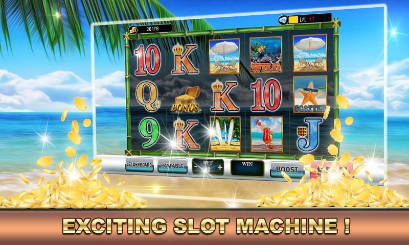 Slot Machine Vacation Paradise 2.0 Screenshot 1