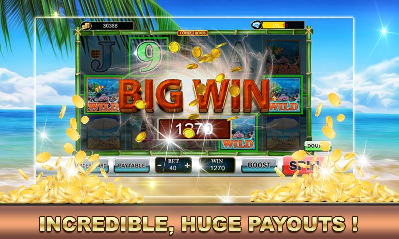 Slot Machine Vacation Paradise 2.0 Screenshot 2