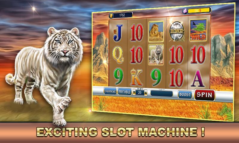 Slot Machine: Wild Cats 2.1 Screenshot 1