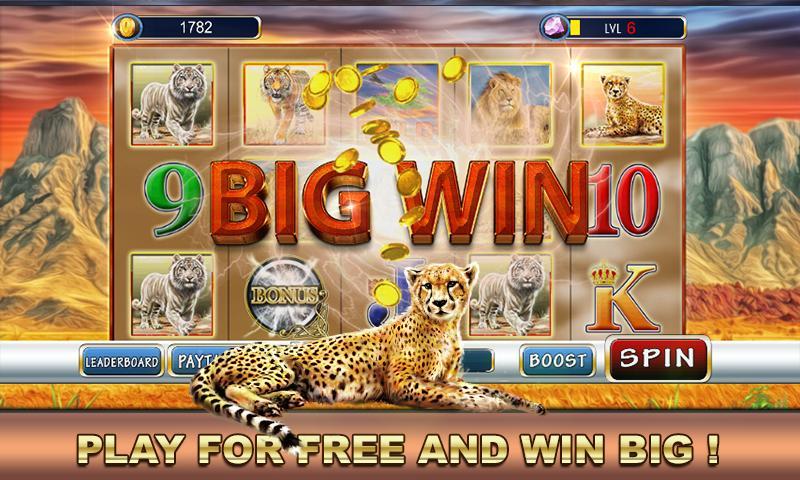 Slot Machine: Wild Cats 2.1 Screenshot 2