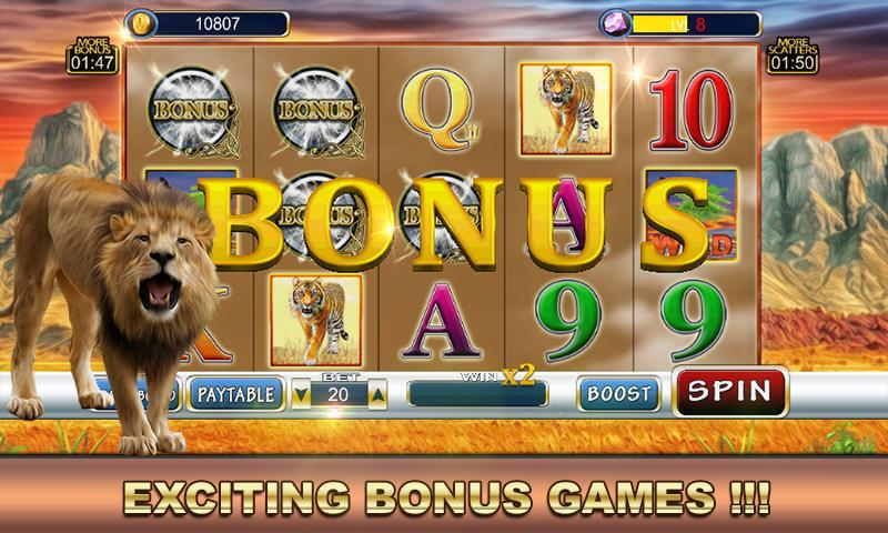 Slot Machine: Wild Cats 2.1 Screenshot 4