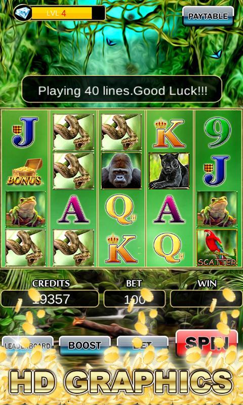 Slot Machine: Wild Gorilla 2.3 Screenshot 2