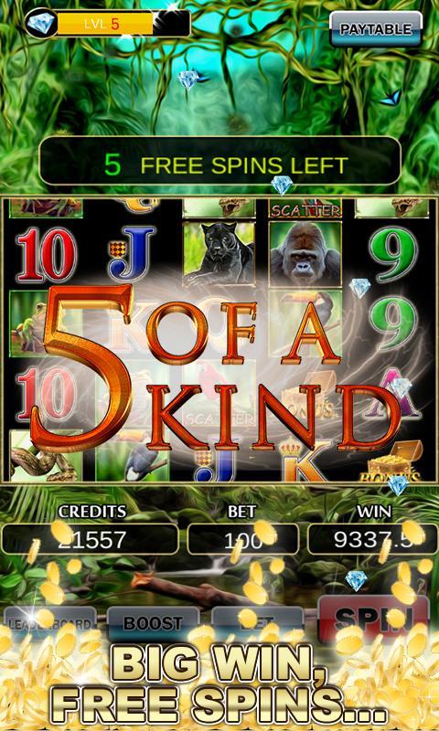 Slot Machine: Wild Gorilla 2.3 Screenshot 3