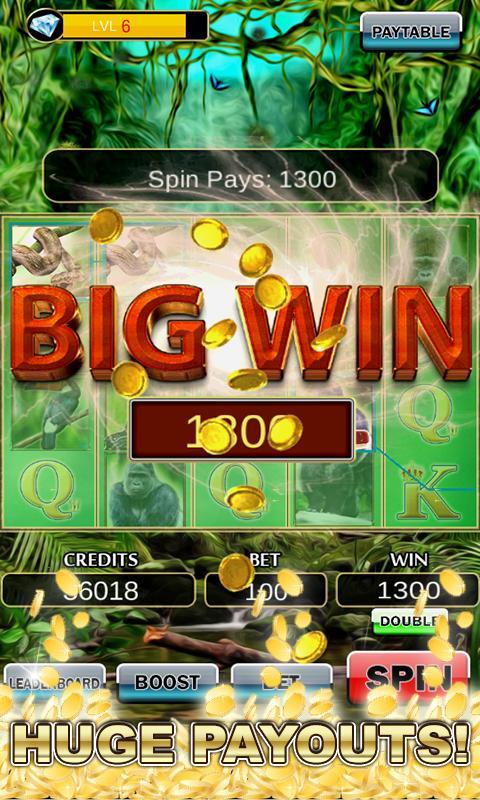 Slot Machine: Wild Gorilla 2.3 Screenshot 4