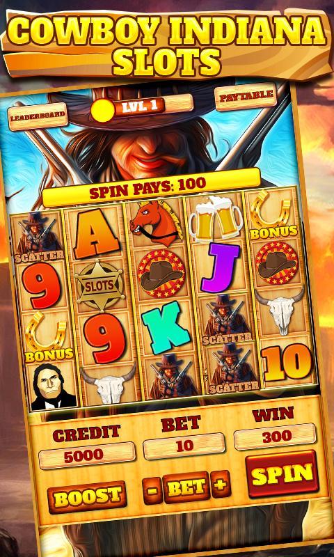 Slot Machine: Wild West 2.3 Screenshot 1