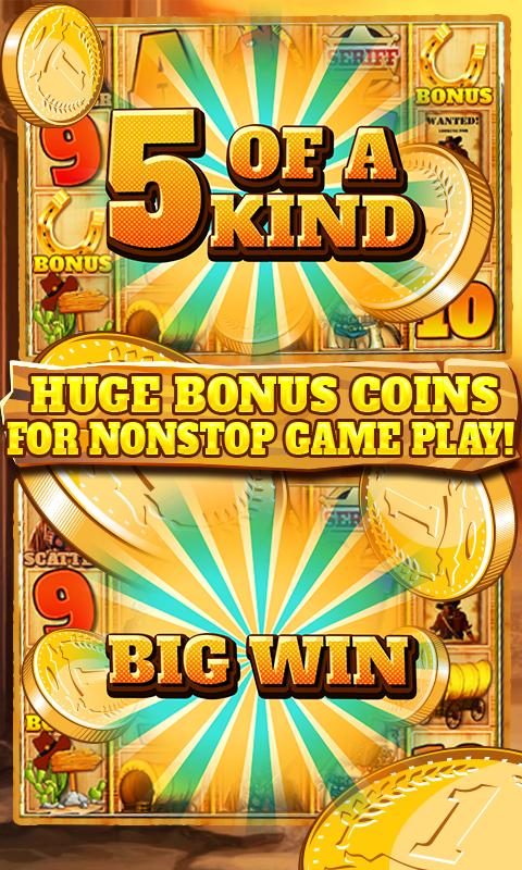 Slot Machine: Wild West 2.3 Screenshot 2