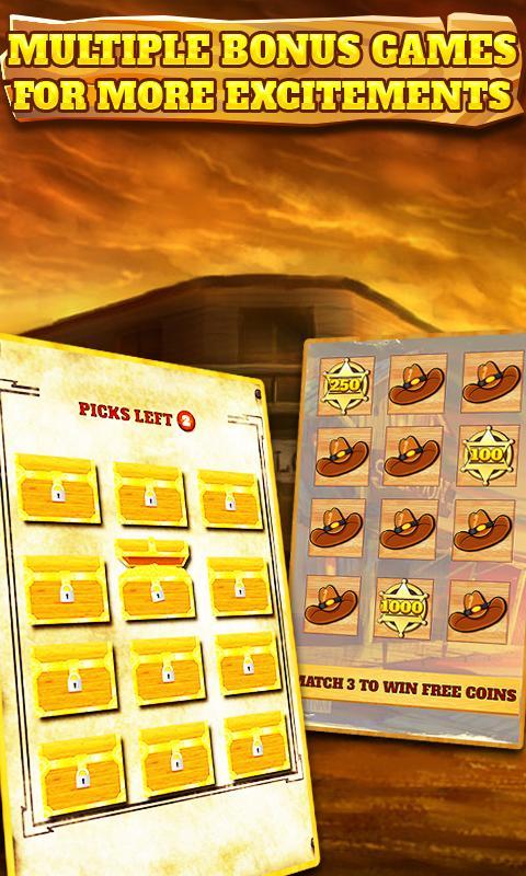 Slot Machine: Wild West 2.3 Screenshot 4