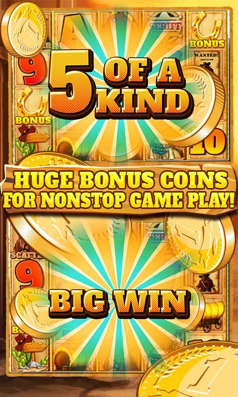 Slot Machine: Wild West 2.3 Screenshot 6