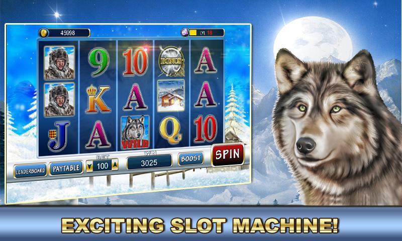 Slot Machine: Wolf Slots 2.2 Screenshot 1