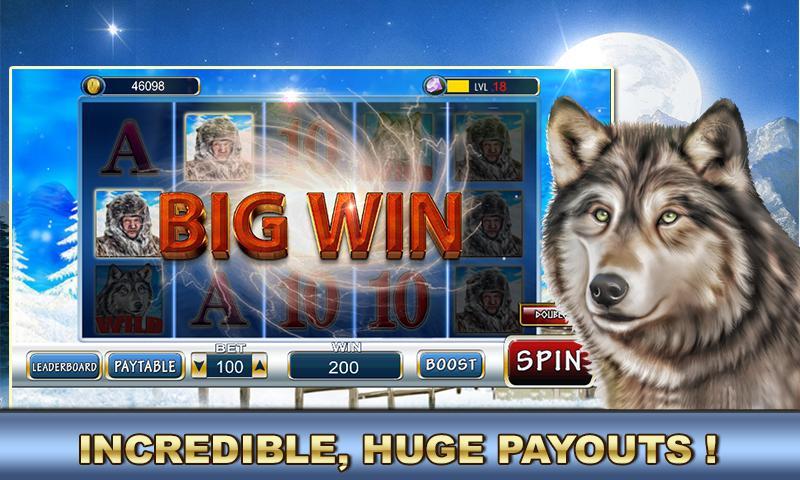 Slot Machine: Wolf Slots 2.2 Screenshot 2