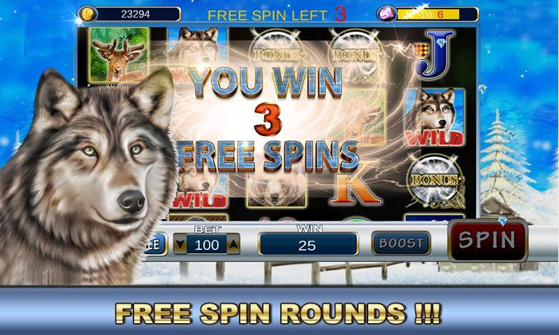 Slot Machine: Wolf Slots 2.2 Screenshot 4