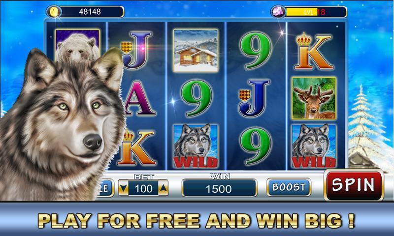 Slot Machine: Wolf Slots 2.2 Screenshot 5