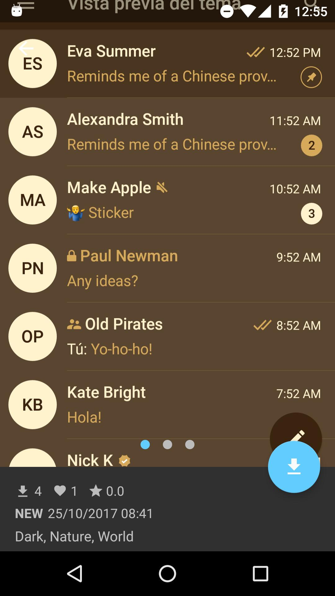 Themes for Telegram 1.2.2 Screenshot 6