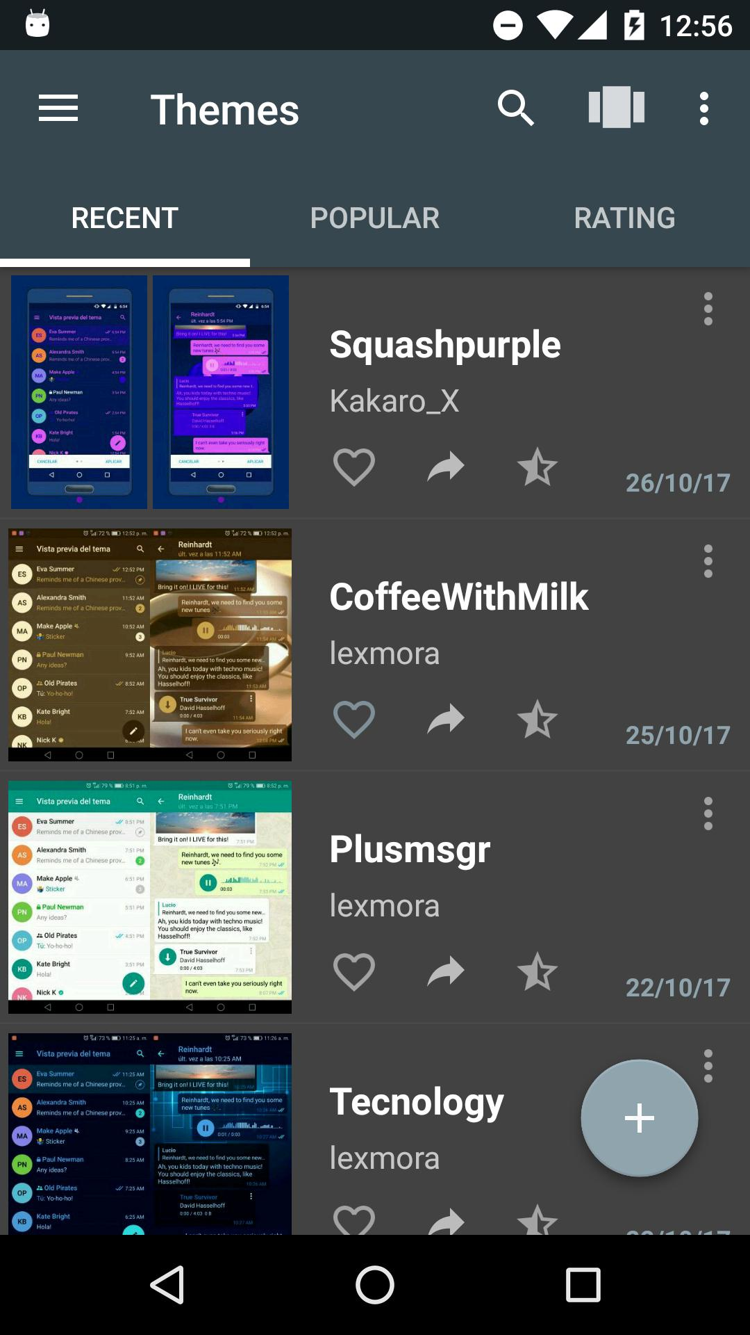 Themes for Telegram 1.2.2 Screenshot 8