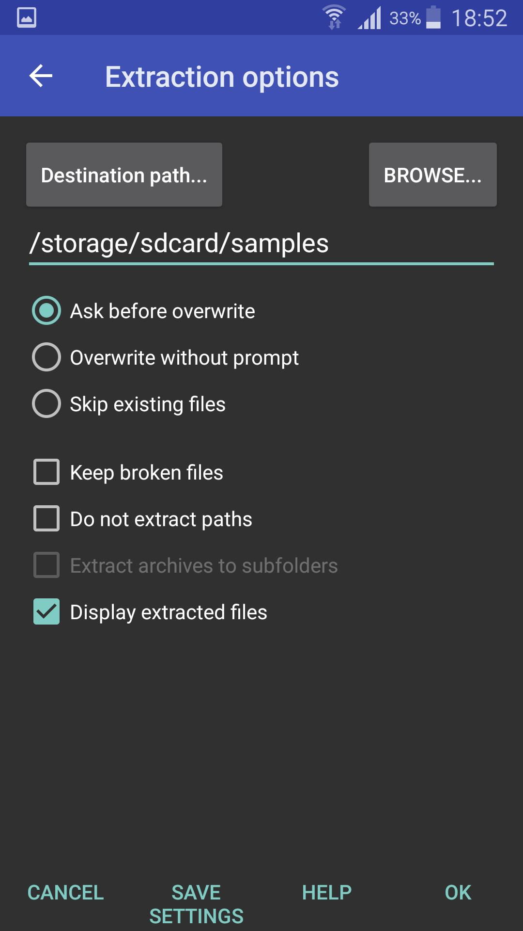 RAR 5.91.build95 Screenshot 3