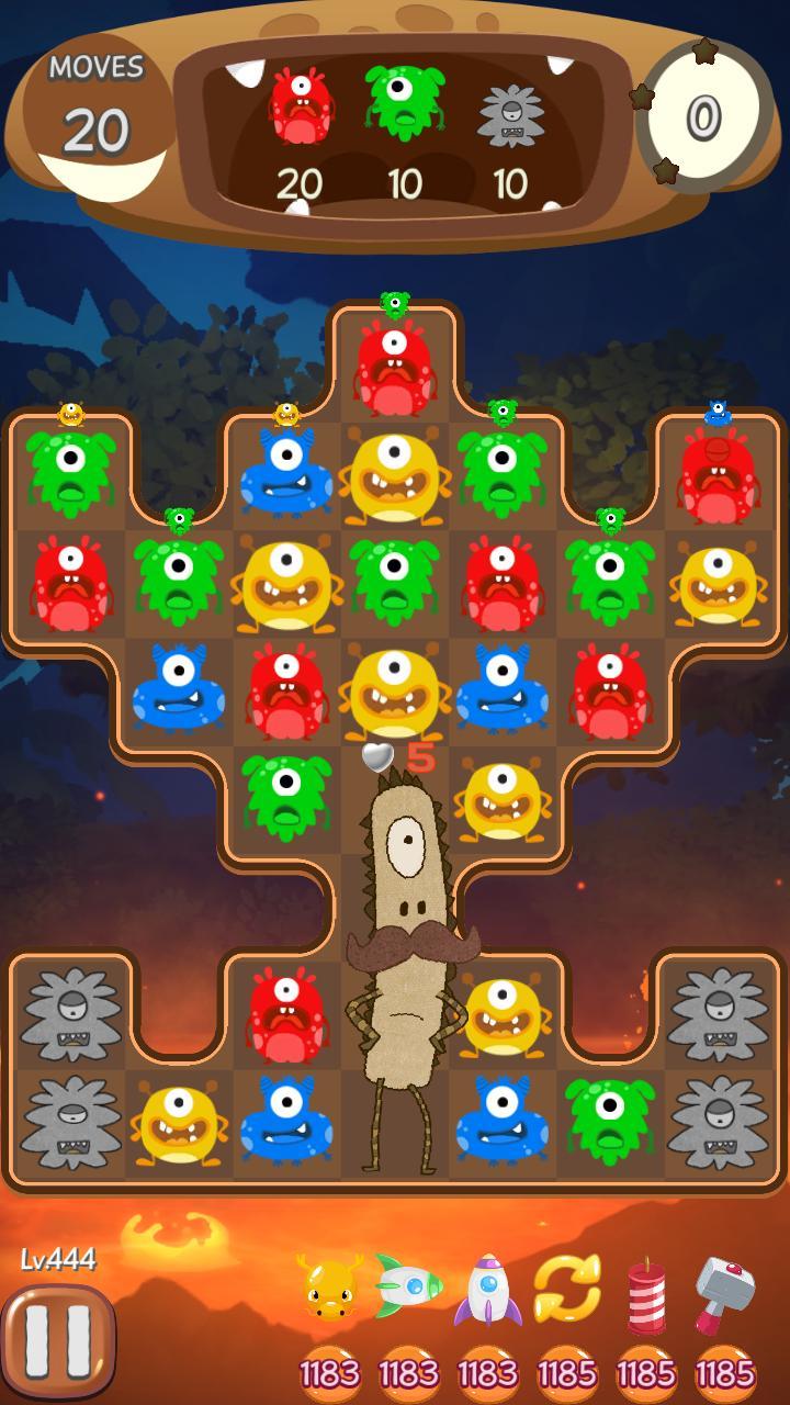 CoCo Pang Puzzle Game screenshot
