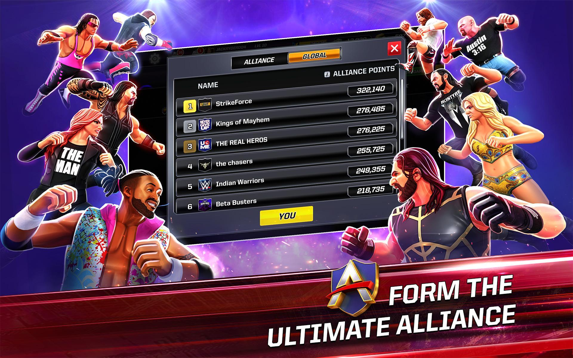 WWE Mayhem 1.37.793 Screenshot 17