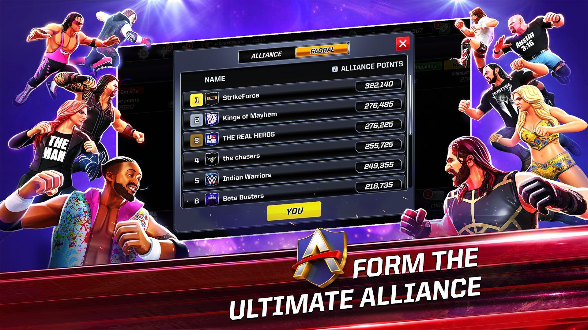 WWE Mayhem 1.37.793 Screenshot 2