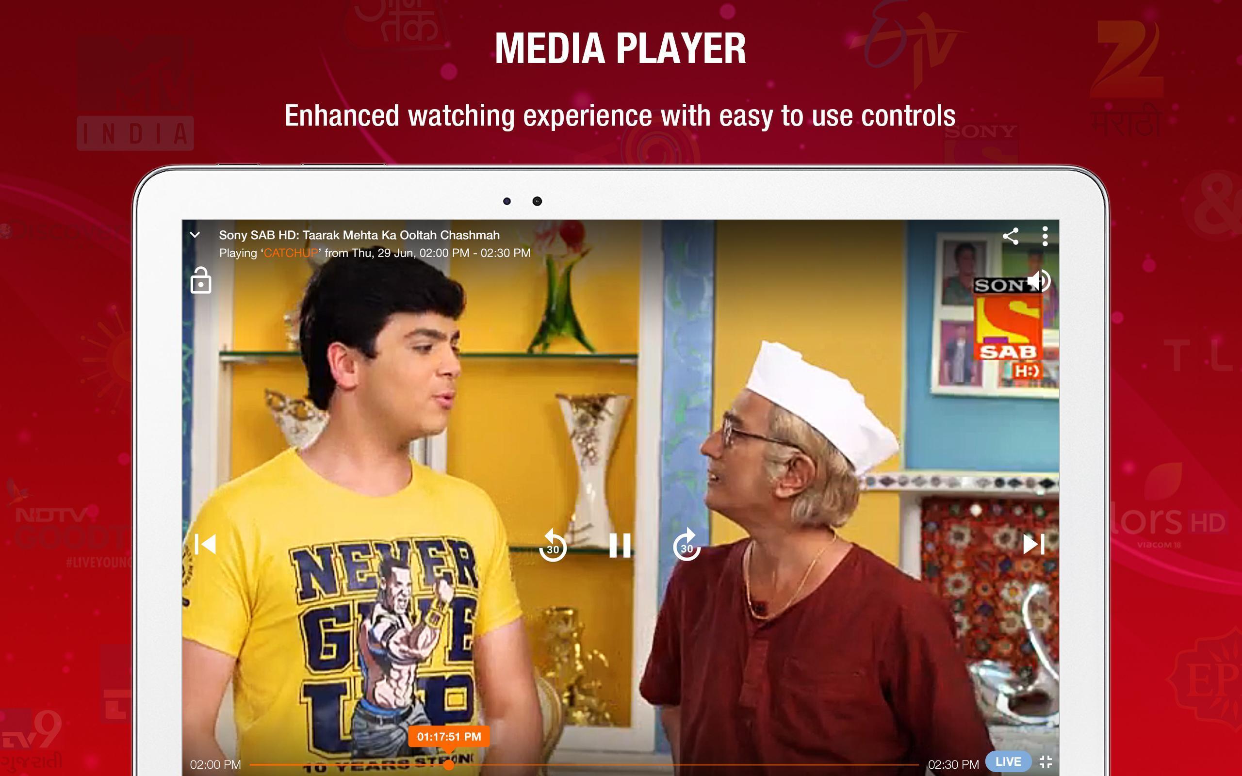 JioTV – LIVE Cricket, TV, Movies 5.8.3 Screenshot 11
