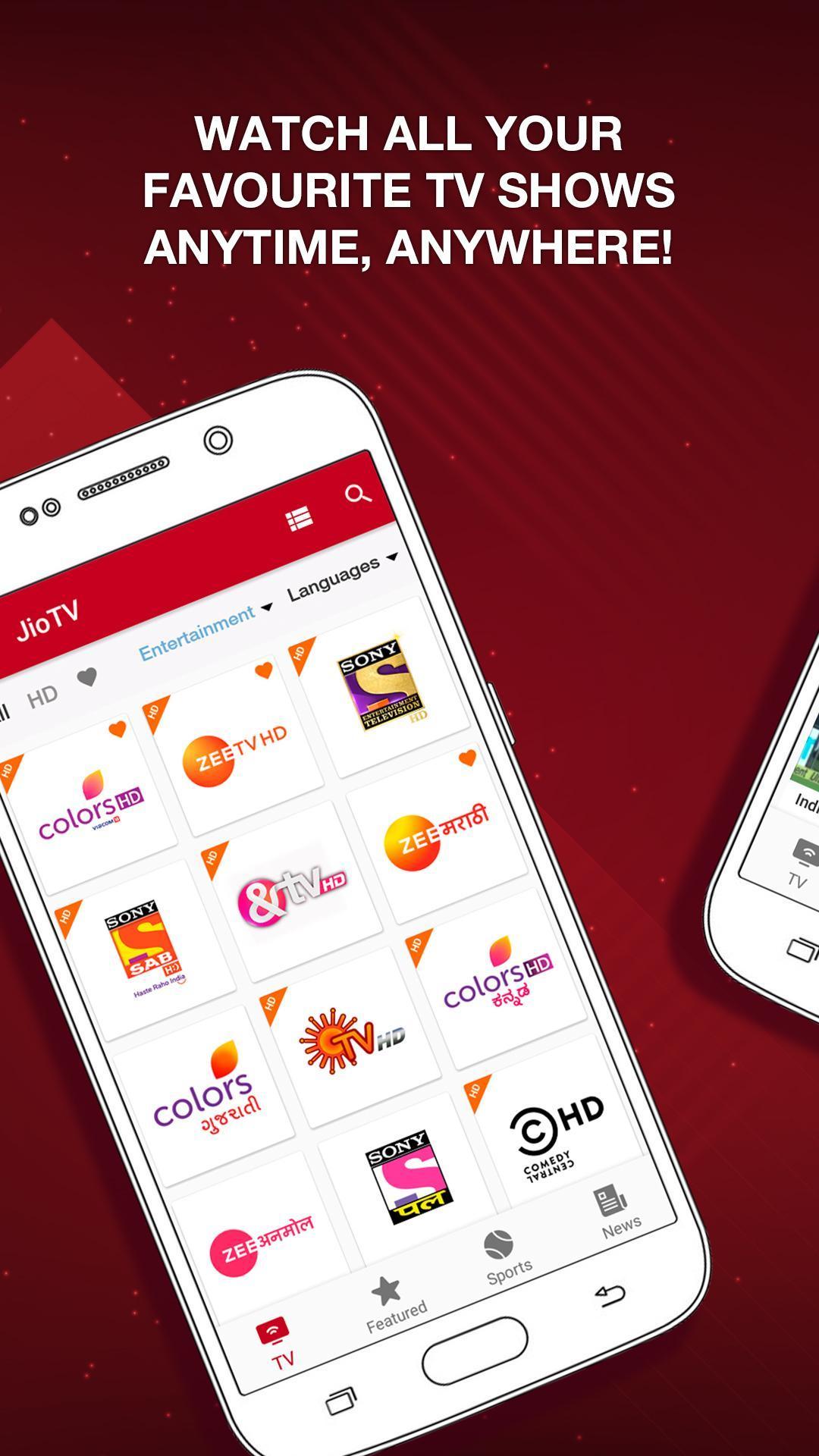 JioTV – LIVE Cricket, TV, Movies 5.8.3 Screenshot 2