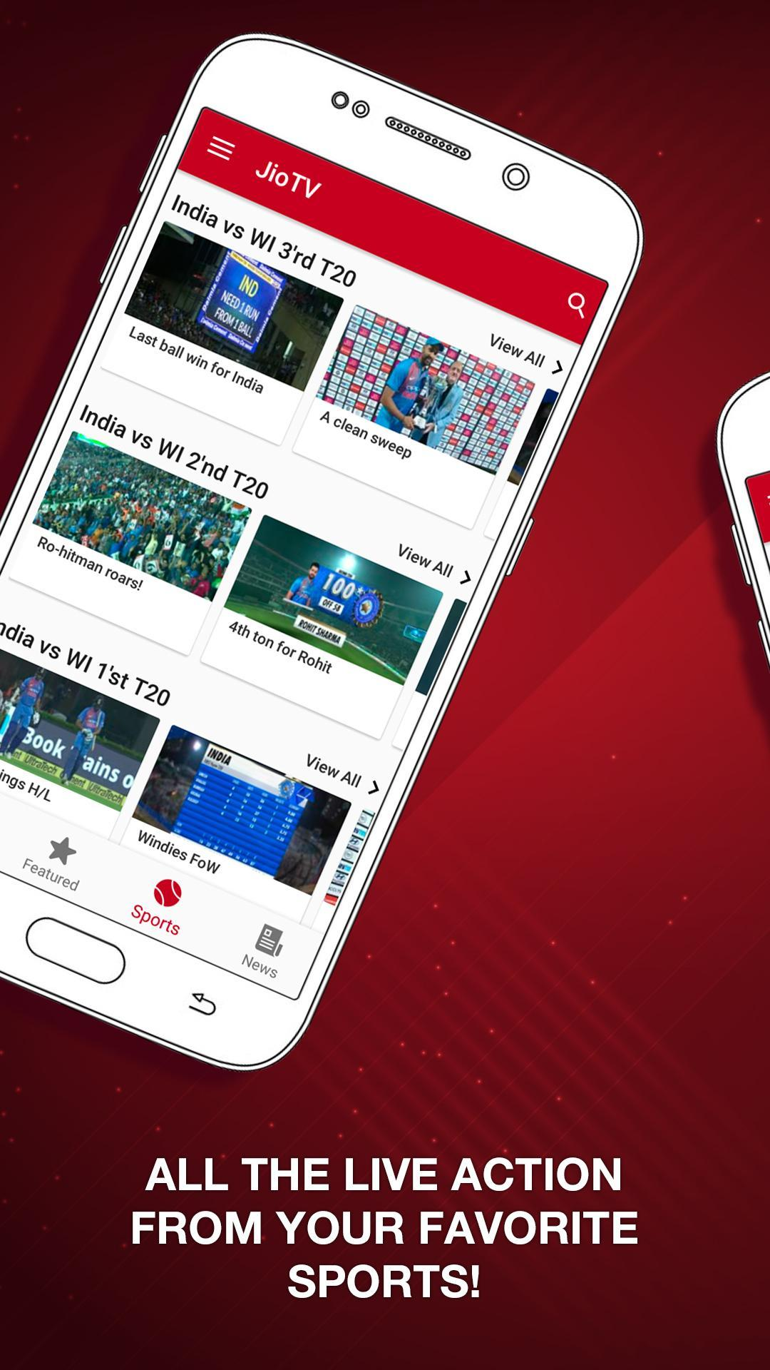 JioTV – LIVE Cricket, TV, Movies 5.8.3 Screenshot 3