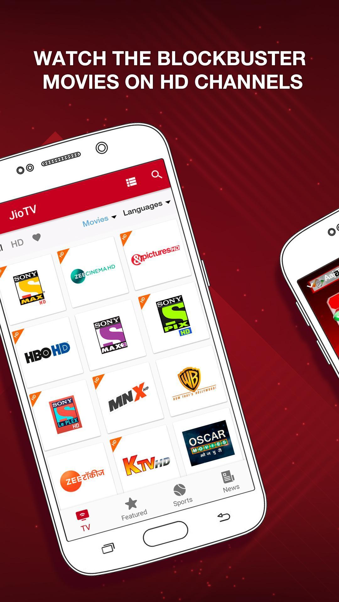 JioTV – LIVE Cricket, TV, Movies 5.8.3 Screenshot 4