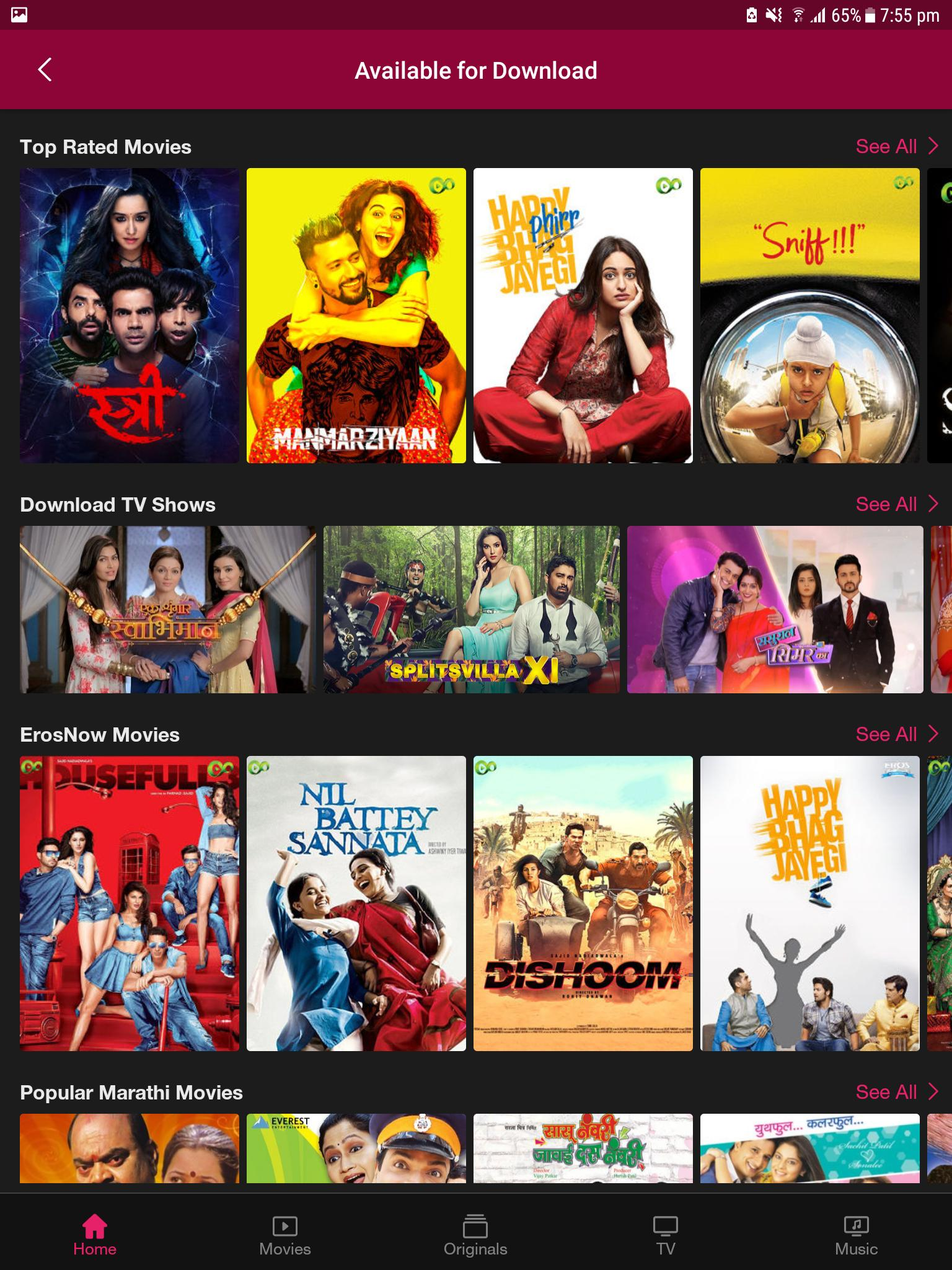 JioCinema Movies TV Originals 1.6.0.3 Screenshot 10