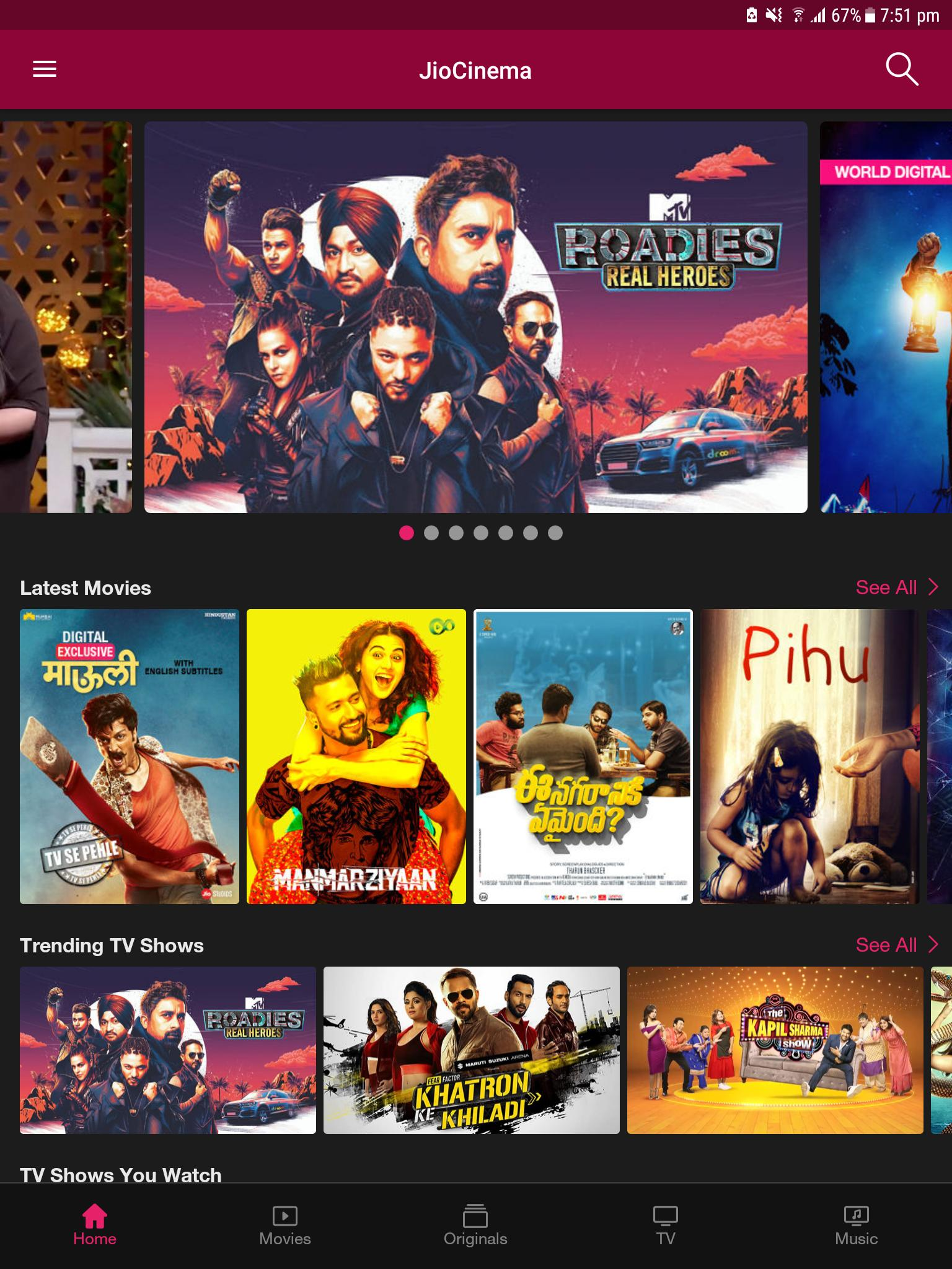 JioCinema Movies TV Originals 1.6.0.3 Screenshot 13