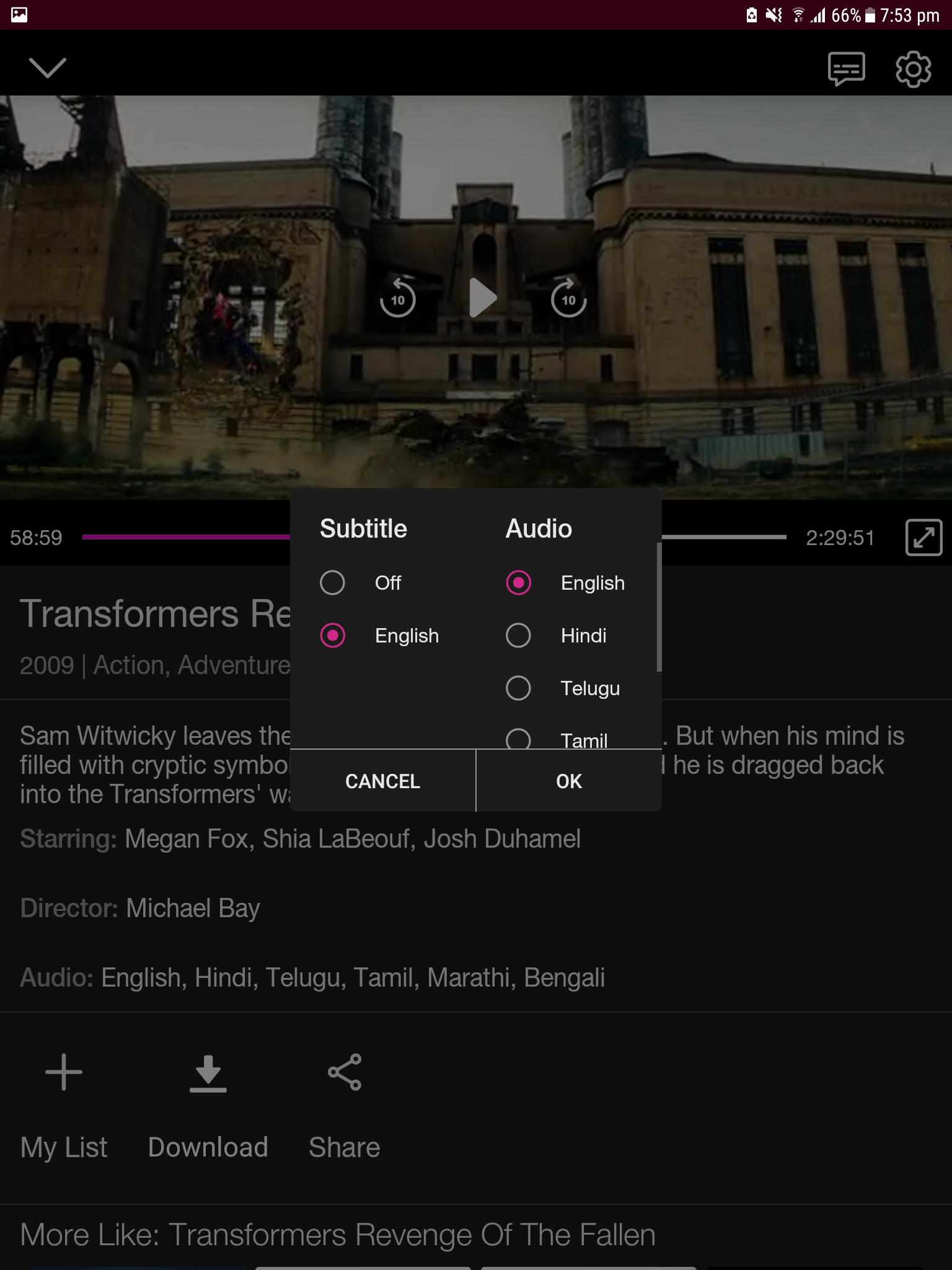 JioCinema Movies TV Originals 1.6.0.3 Screenshot 15