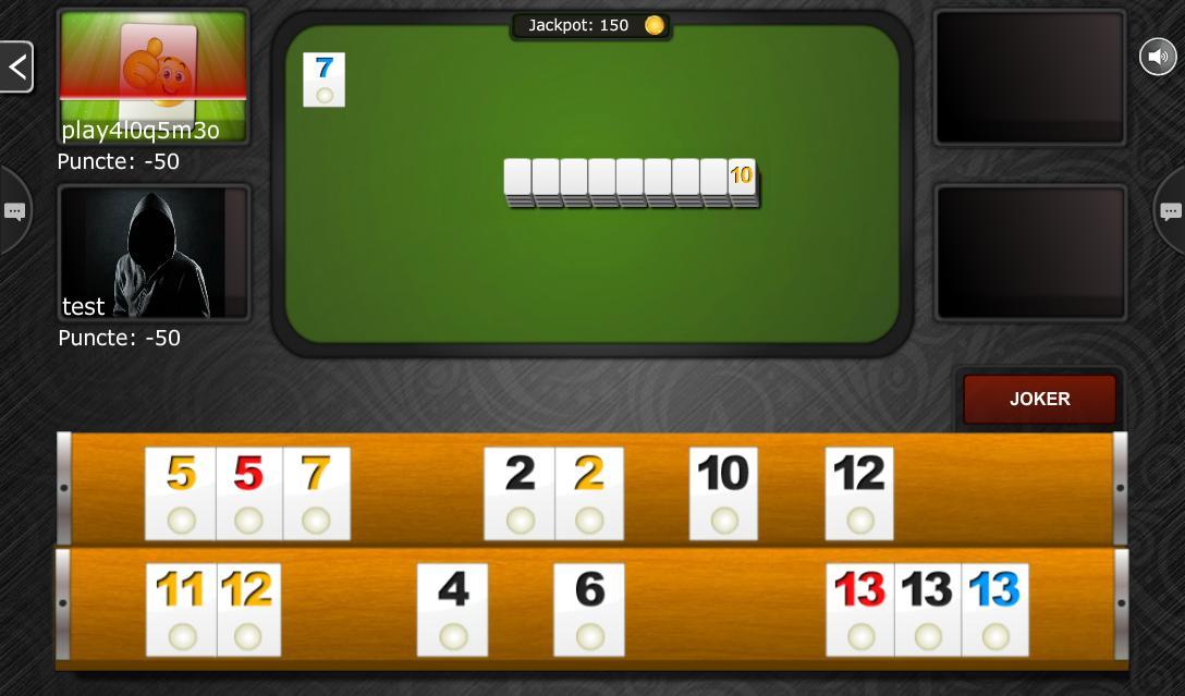 Rummy PRO Remi Pe Tabla 5.6.1 Screenshot 10