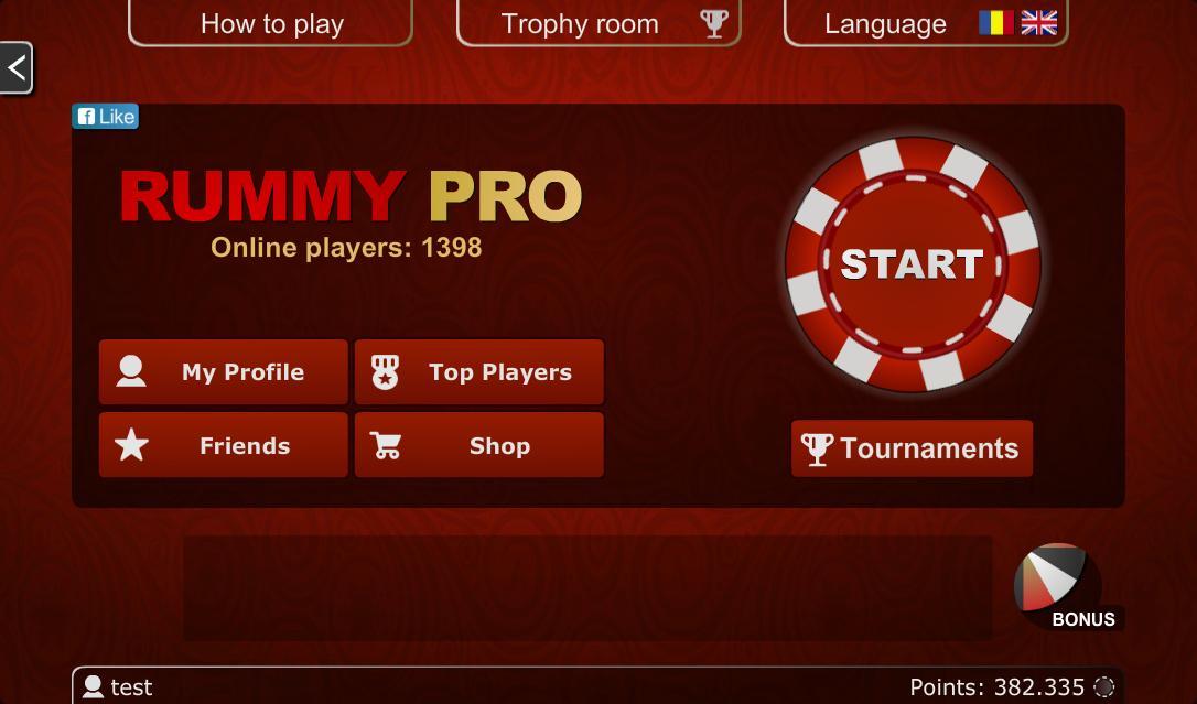 Rummy PRO Remi Pe Tabla 5.6.1 Screenshot 9