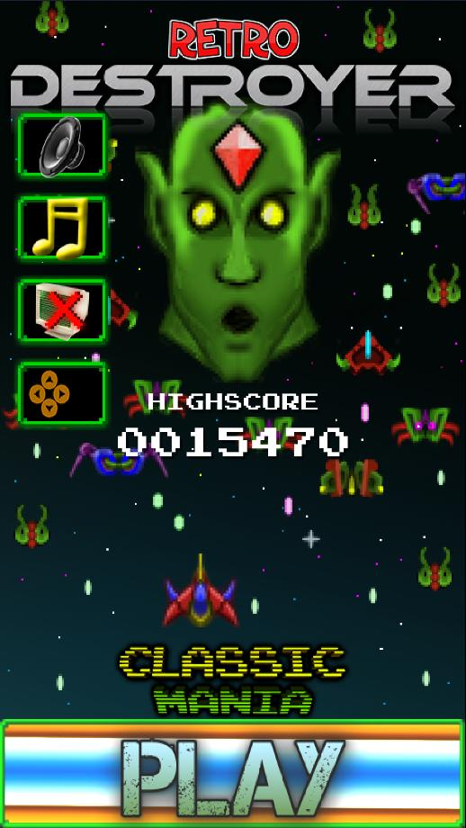 Classic Destroyer Arcade 1.19 Screenshot 1
