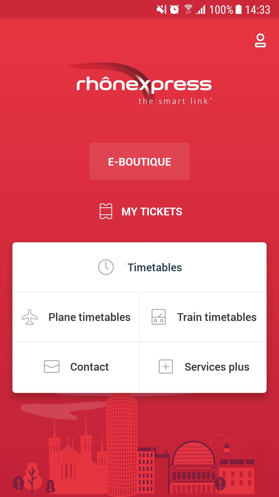 Rhônexpress Airport Lyon 4.0.8 Screenshot 1