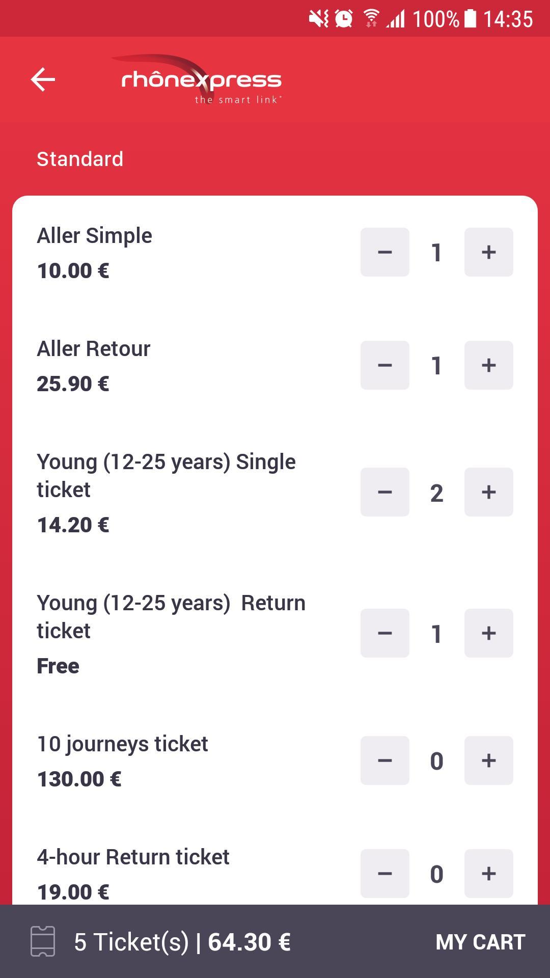 Rhônexpress Airport Lyon 4.0.8 Screenshot 3