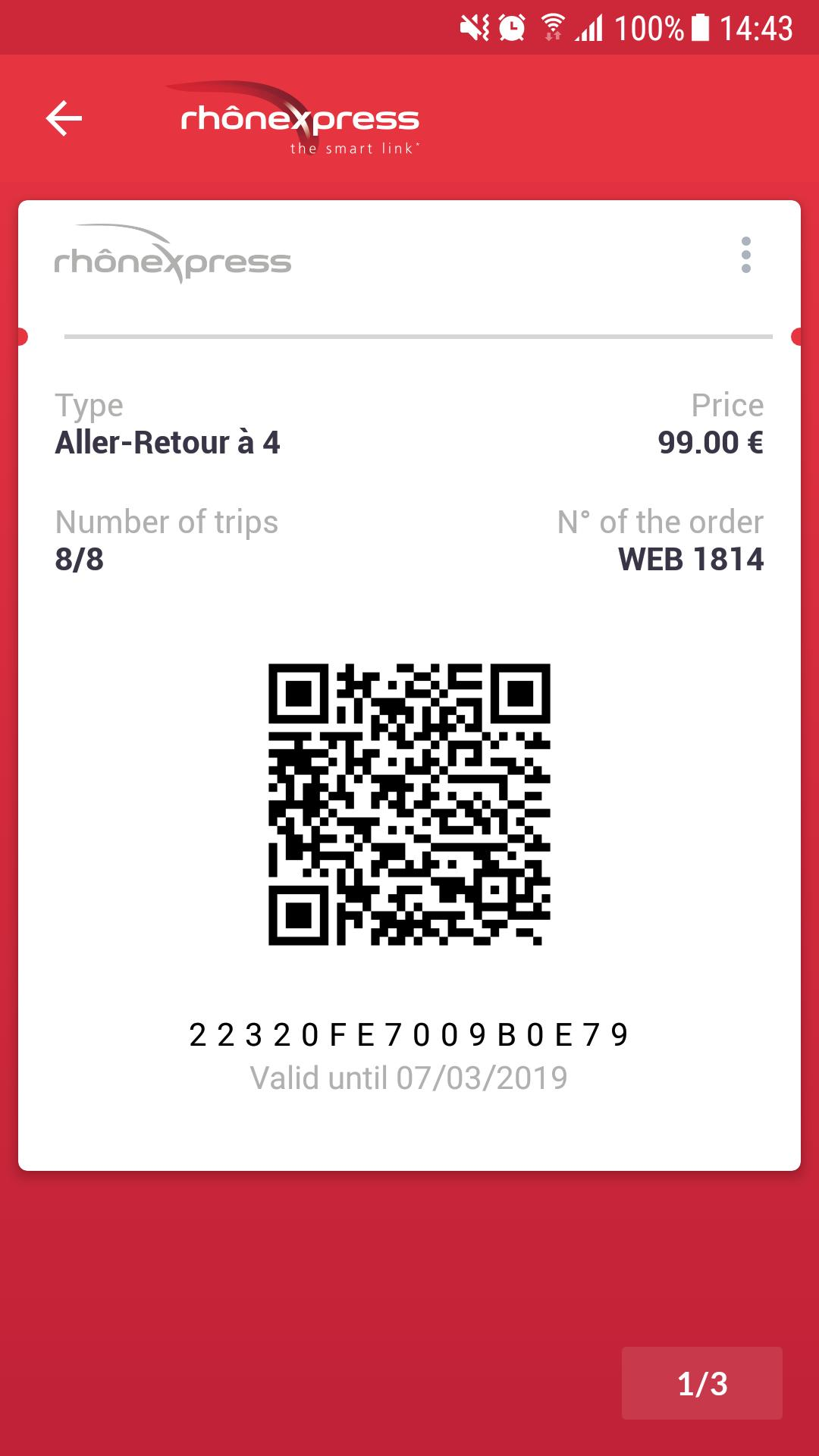 Rhônexpress Airport Lyon 4.0.8 Screenshot 4