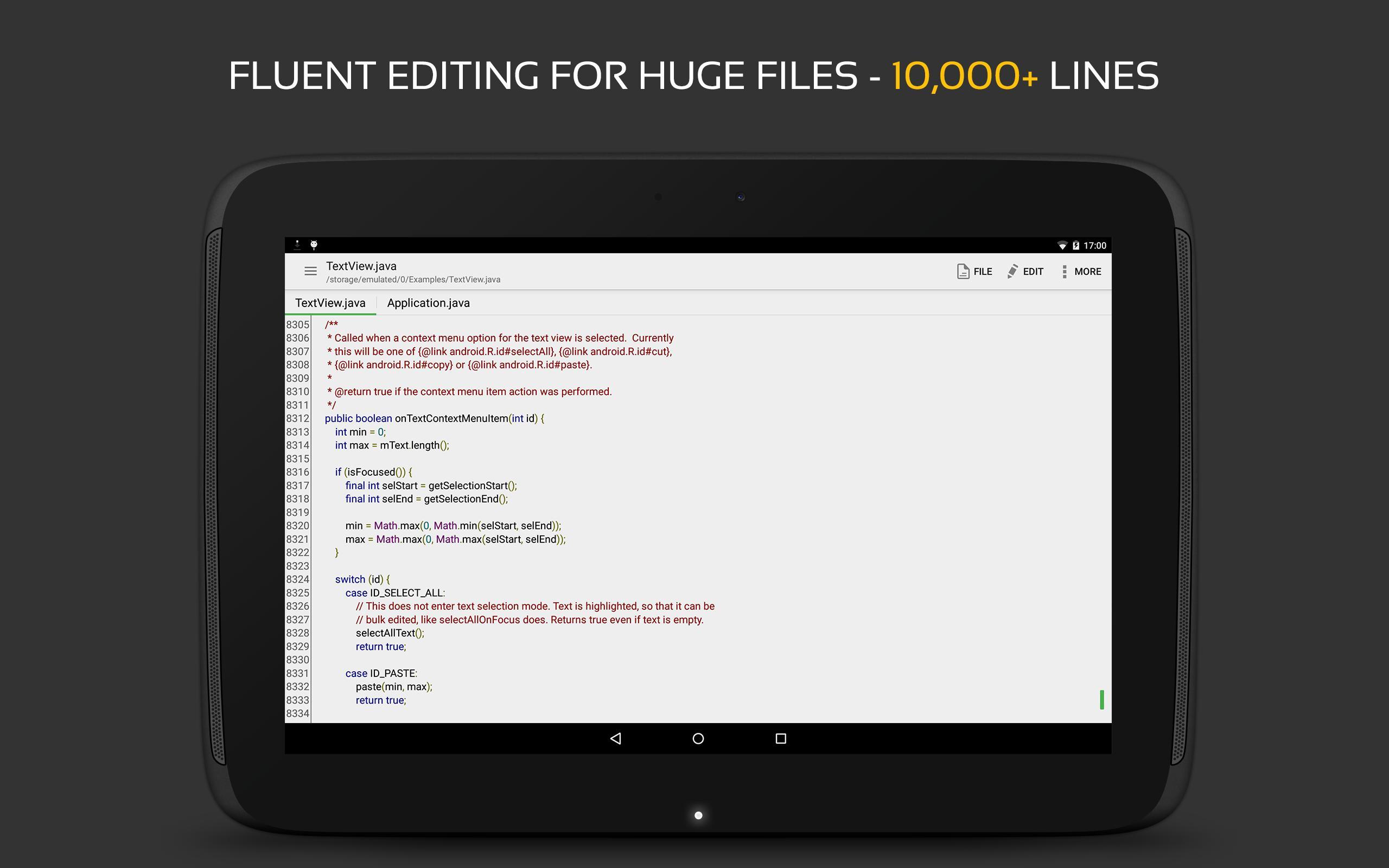QuickEdit Text Editor - Writer & Code Editor 1.7.3 Screenshot 10