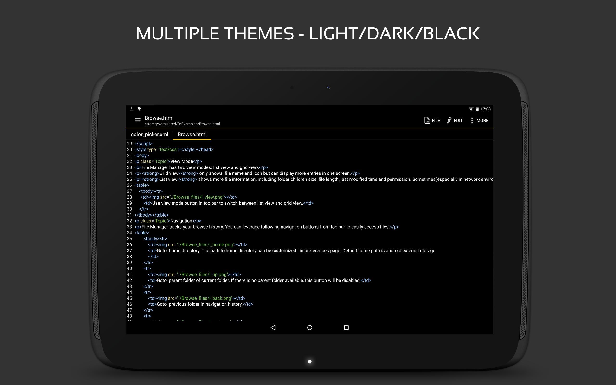 QuickEdit Text Editor - Writer & Code Editor 1.7.3 Screenshot 13