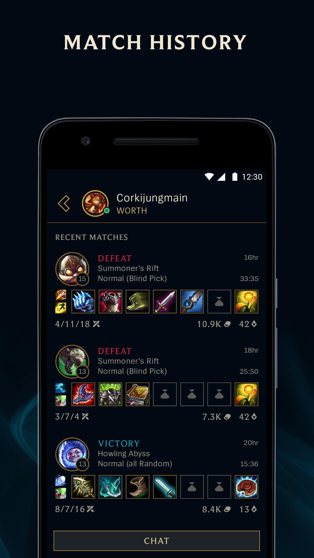 League Friends Beta 1.7.5 Screenshot 1