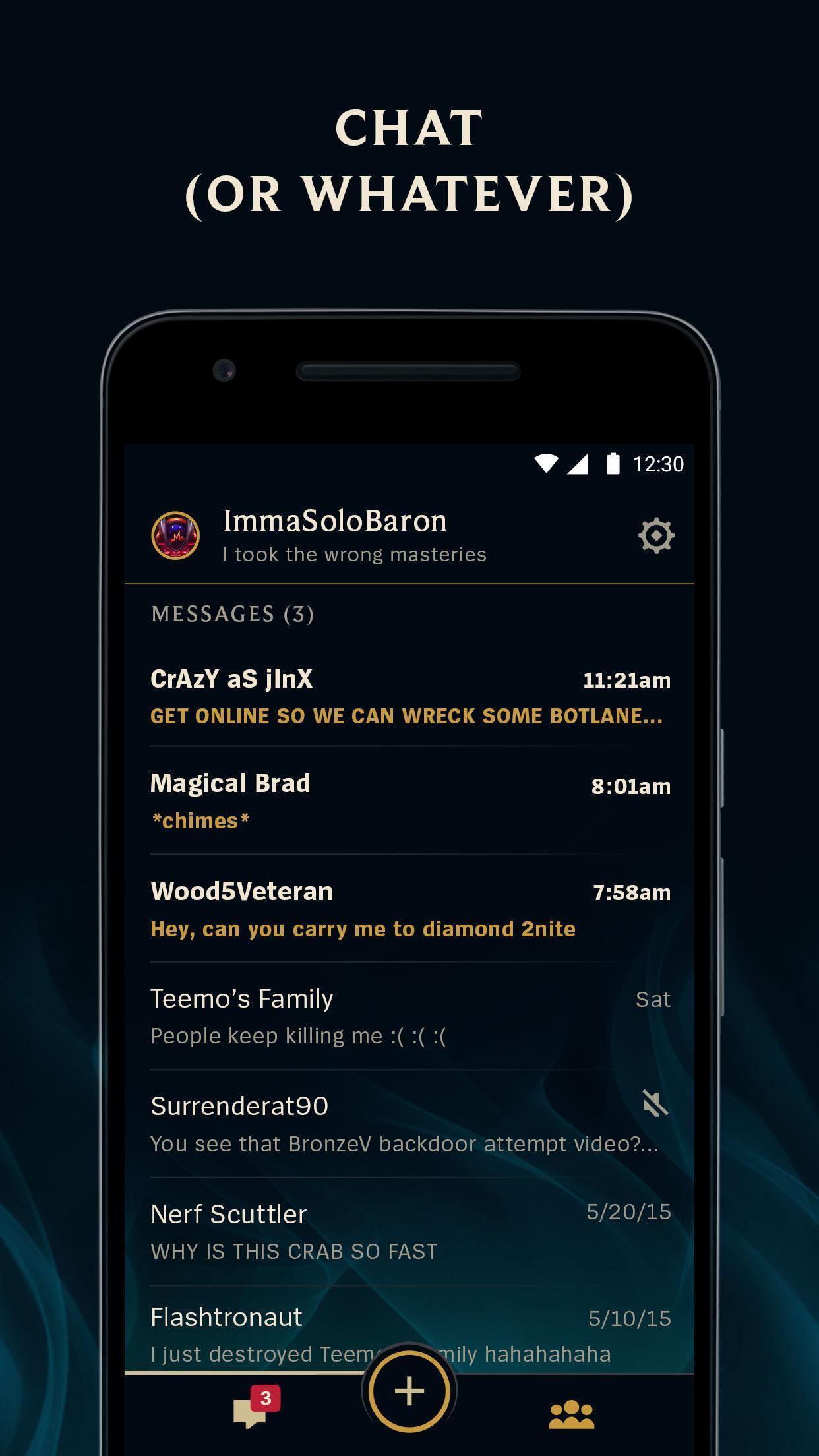 League Friends Beta 1.7.5 Screenshot 5