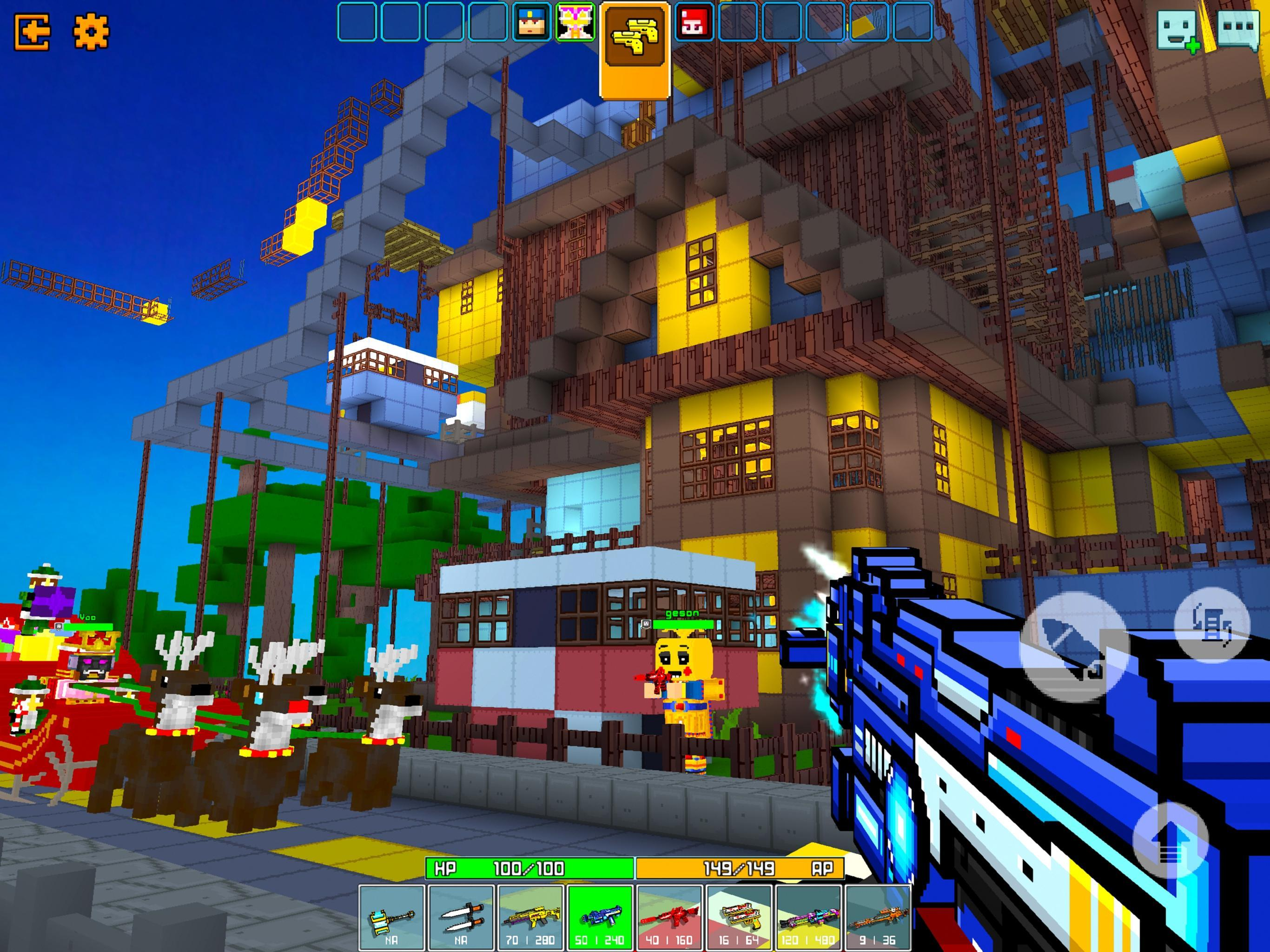Cops N Robbers - 3D Pixel Craft Gun Shooting Games 9.8.4 Screenshot 10
