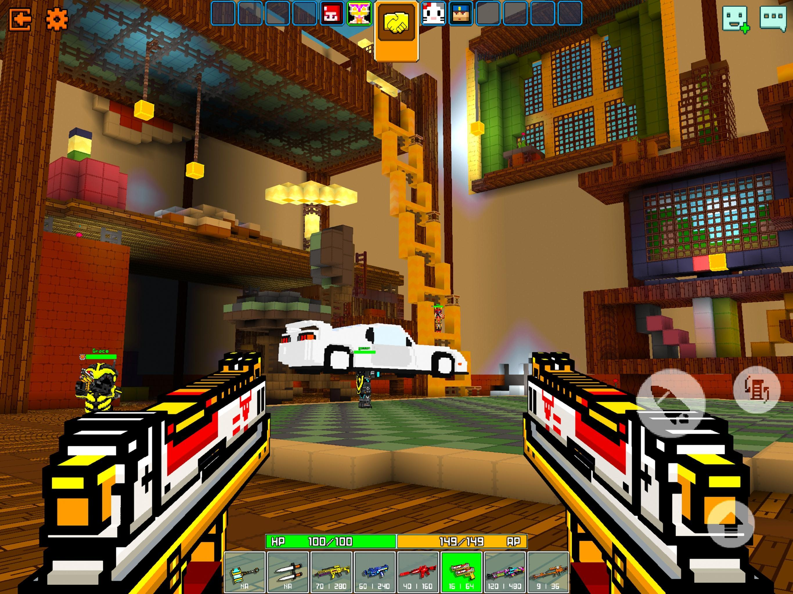 Cops N Robbers - 3D Pixel Craft Gun Shooting Games 9.8.4 Screenshot 11