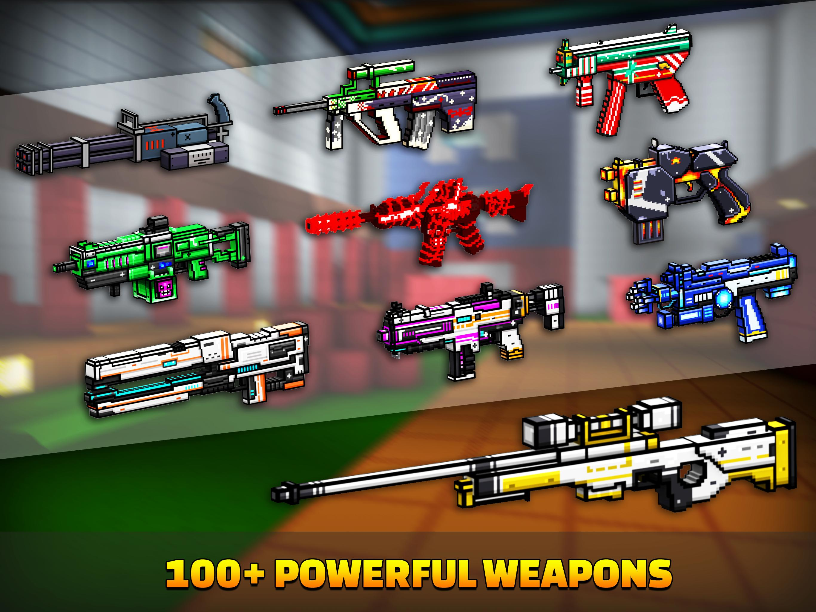 Cops N Robbers - 3D Pixel Craft Gun Shooting Games 9.8.4 Screenshot 13