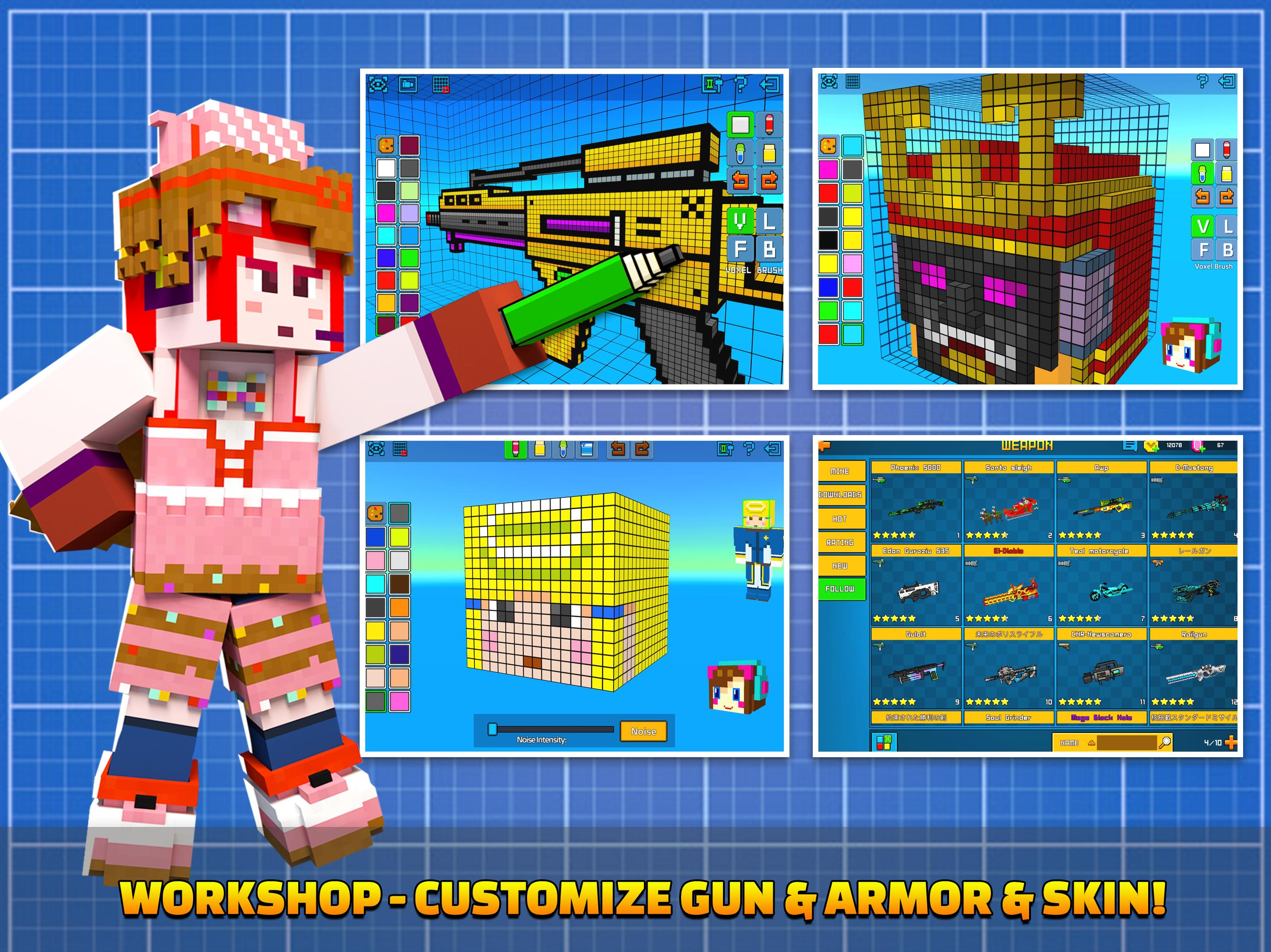 Cops N Robbers - 3D Pixel Craft Gun Shooting Games 9.8.4 Screenshot 15