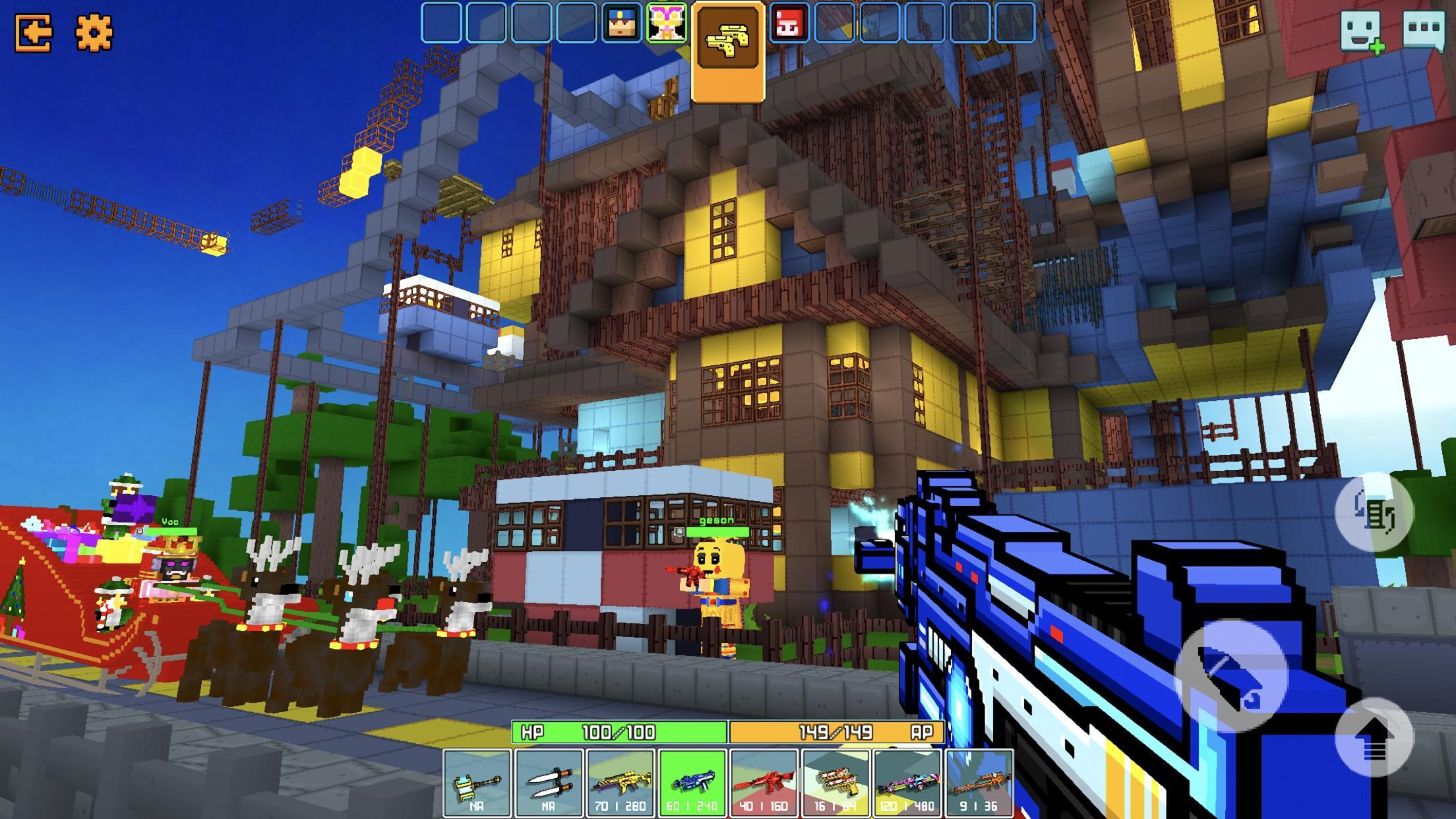 Cops N Robbers - 3D Pixel Craft Gun Shooting Games 9.8.4 Screenshot 2