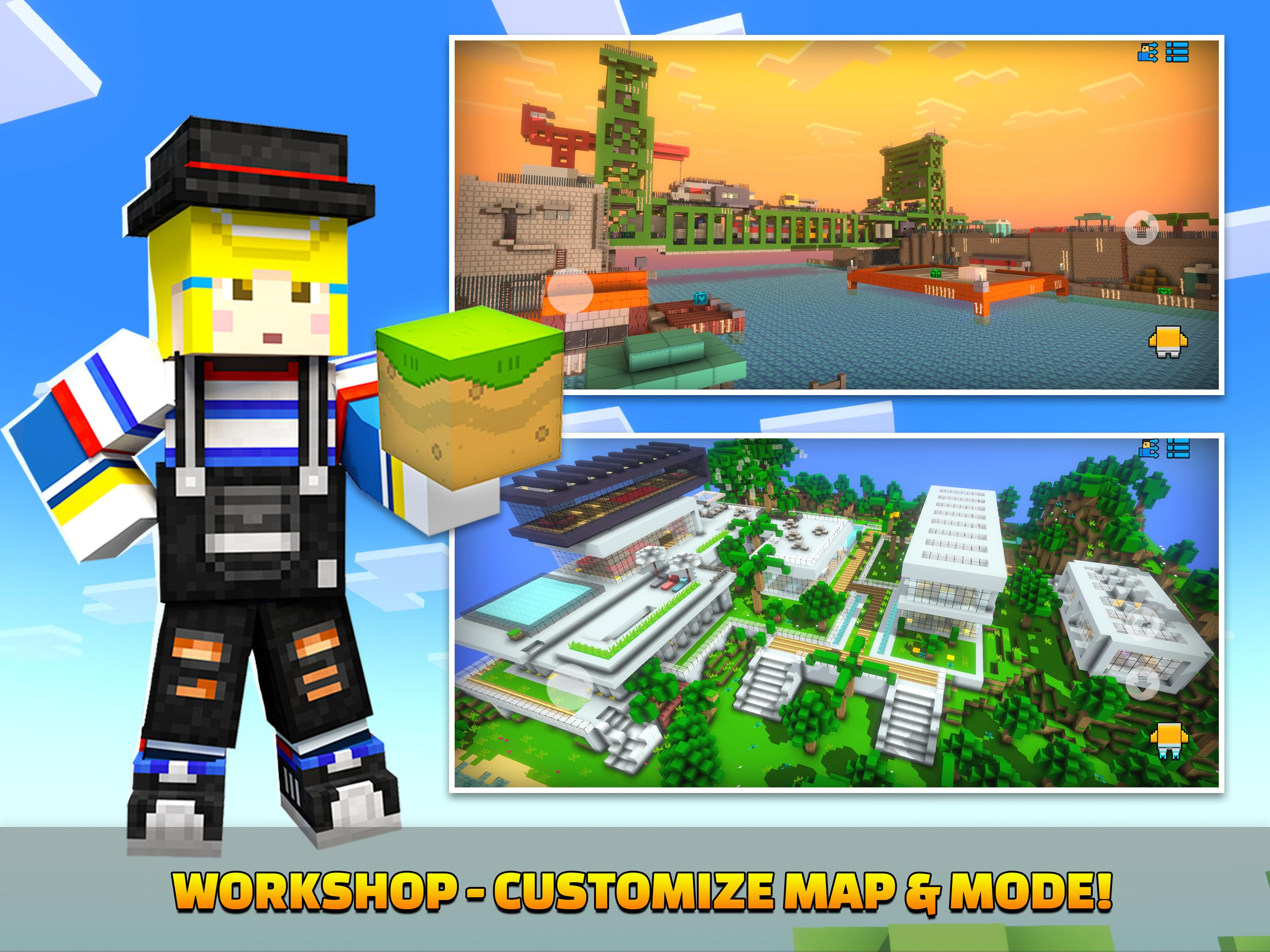 Cops N Robbers - 3D Pixel Craft Gun Shooting Games 9.8.4 Screenshot 22